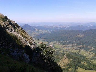 Photos de la vue dans haut du (Pic De Bugarach)