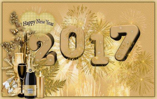 Gelukkig Nieuwjaar - Happy New Year   -   Bonne Année     Feliz Año - Buon Anno  - Prosit Neujahr