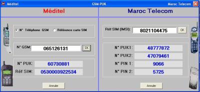 logiciel gsm puk