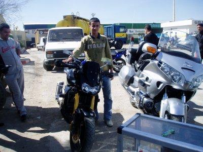 A Belabass Avec La Moto Kawasaki Blog De Sofiane Sosa