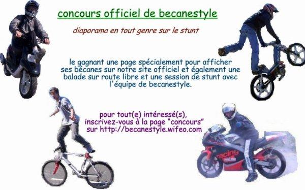 concours de stunt du 22/07/2010 au 22/10/2010