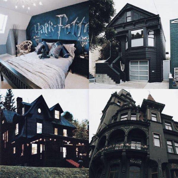 je veux cette maison et cette chambre *o*