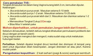 Obat Penyempit Vagina TVS Hasil Paten & Permanen