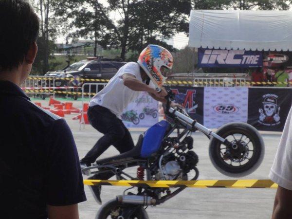 Bangkok  stunt compétition