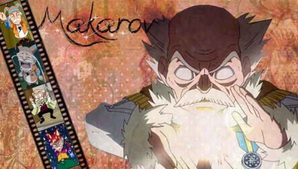 Makarov de Fairy Tail (alias ; le Maître).