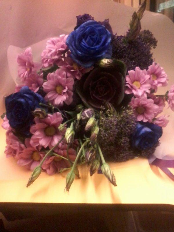 magnifique bouquet de fleur que mon chéri ma offert pour noel <3
