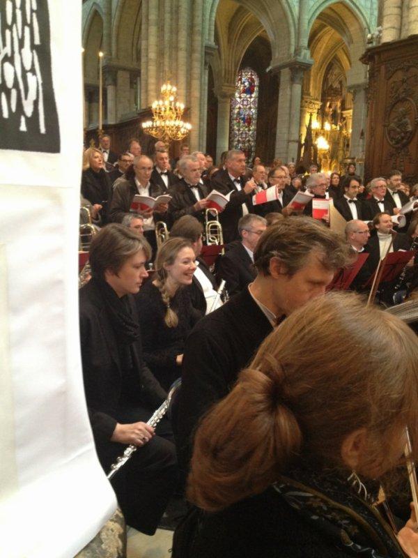 Concert 1er avril requiem de Dvorak