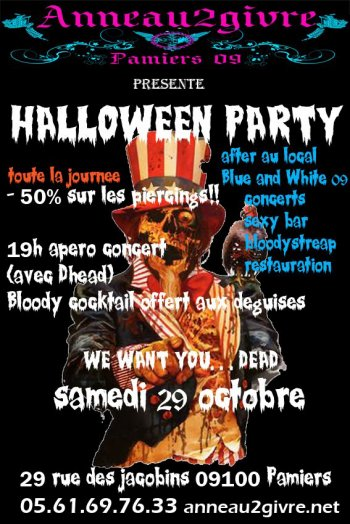 HALLOWEEN TATTOO PARTY