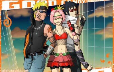 Naruto Sakura & Sasuke