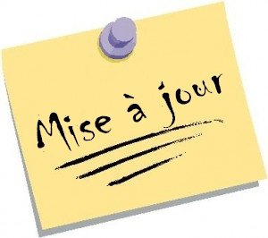 Mise A Jour du Blog !!
