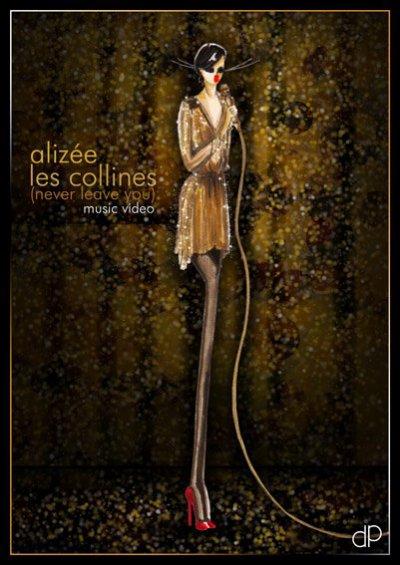 ...oO°Alizée / Mylène Farmer ~ dessins de Damien Pirron°Oo...
