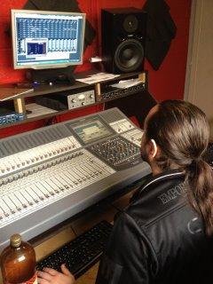 Marcus BLACK LOVELY en studio ...