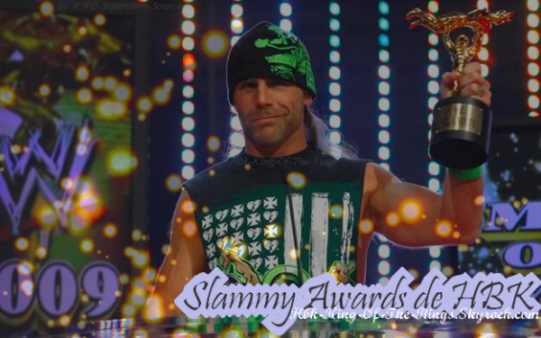 Slammy Award Attribuer a Shawn Michaels