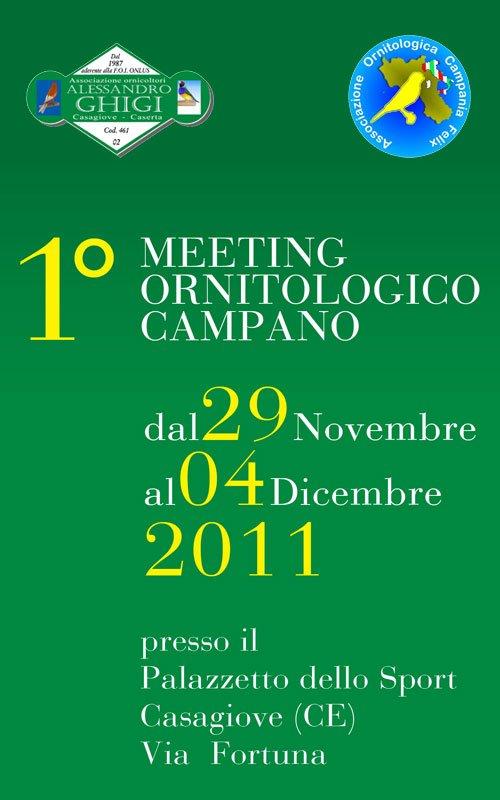MEETING ORNITOLOGICO CAMPANO