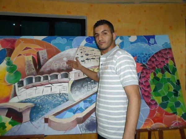 je suis un artist et j'adore le ART