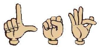 L-S-F : Langue des Signes Française