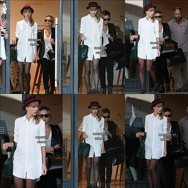 "29/08 - Quittant ""Bayrners"" en compagnie de Taylor a Beverly Hills"