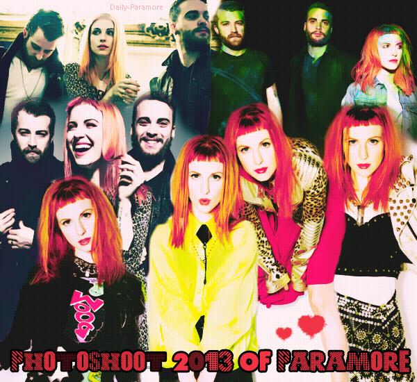 Photoshoot 2013 Paramore ♥ Juste magnifique *_* Au faites j'ai mon billet pour le Zénith le 07.09.13 *_* ♥ I'm A Parawhores 7 -8 years old Follow Me :D @Jarpatate on Twitter