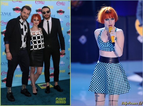 "Paramore ❤ au "" Teen Choice Award 2013 """