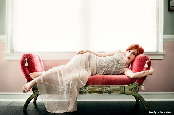 Paramore ♥ - Hayley Williams pour Bust Magazine 2013