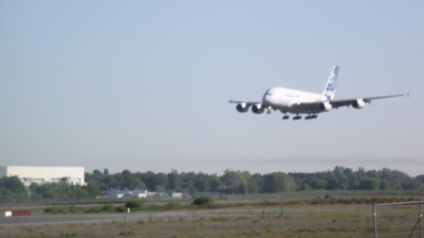 A380 en visite à la sabena  technique