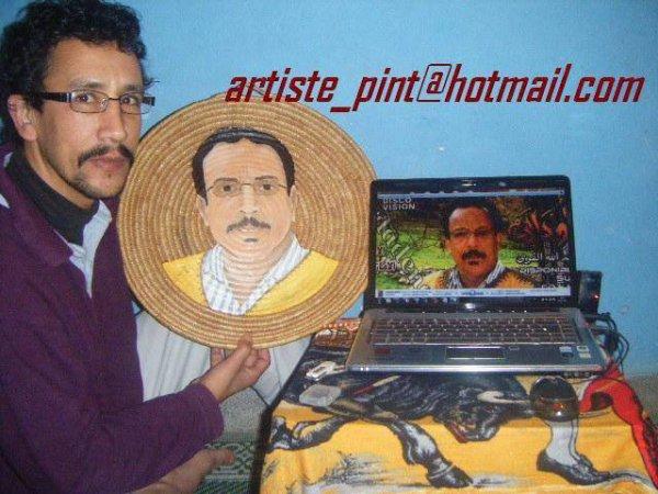 احد معجب اودادن يرسم عبد الله لفوى بي حلة جديدة