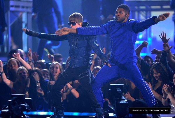 Justin et Usher ♥