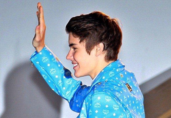 Justin Aux NRJ MUSIC AWARDS