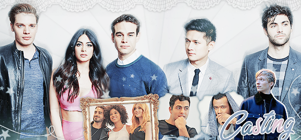 ♠ www.ShadowhuntersTMI.skyrock.com__________☼__________Article Distribution : Le casting de la série « Magnus... they're beautiful. You're beautiful. »__________________Création_-|-_Décoration_-|-_Newsletter_