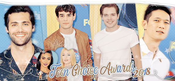 ♠ www.ShadowhuntersTMI.skyrock.com__________☼__________Article Événement : Teen Choice Awards « Magnus... they're beautiful. You're beautiful. »__________________Création_-|-_Décoration_-|-_Newsletter_