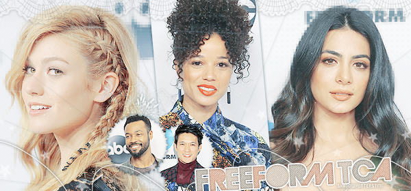 ♠ www.ShadowhuntersTMI.skyrock.com__________☼__________Article Événement : Freeform TCA 2019 « Magnus... they're beautiful. You're beautiful. »__________________Création_-|-_Décoration_-|-_Newsletter_