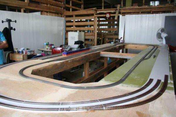 Avancement des réseaux 2 rails...