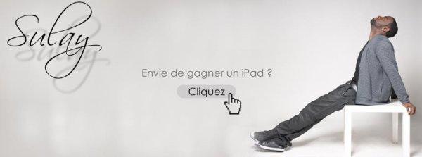 Le nouvel iPad à gagner !