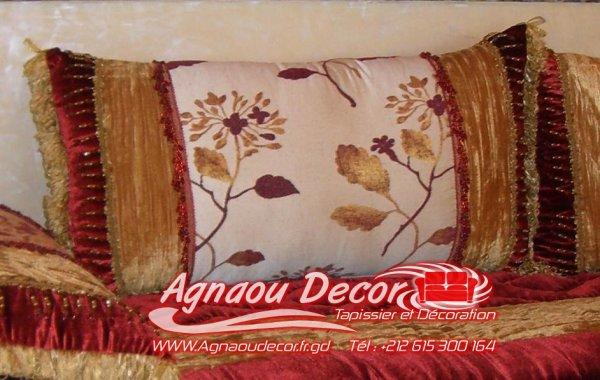 coussin salon marocain
