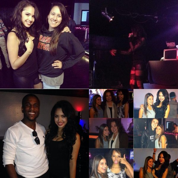 26 octobre- Jasmine a performée à Boardwalk, elle a posée avec des fans avant et après le concert.