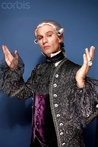 Solal dans le role de Leopold Mozart le père de Mozart