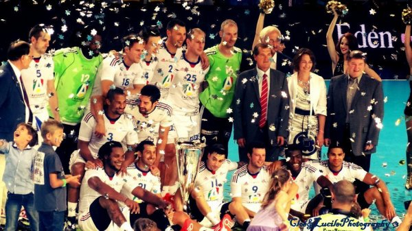 Equipe de France de Handball Masculin.