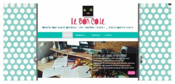 Nouveau projet:   Le Bon Côté.