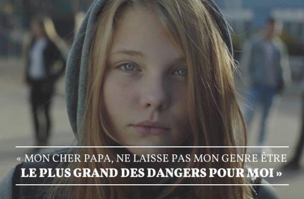 Dear Daddy - pub anti sexisme / agressions sexuelles venant   de Care (Norvège).