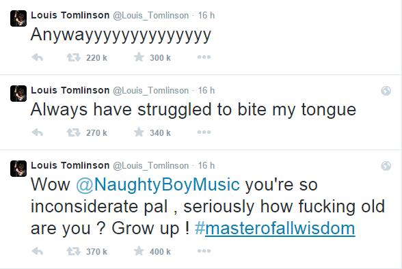 A part ça, tout va bien entre Zayn et Louis