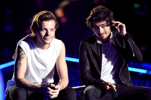 Zayn et Louis se clashent en public sur Twitter. à cause de Naughty Boy