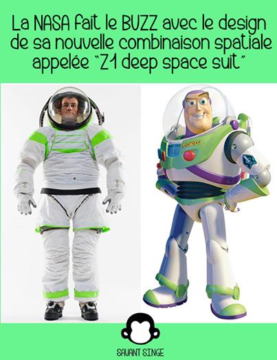 Buzz l'éclair et la NASA