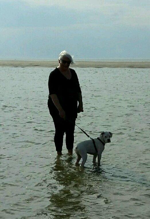 Moi et ma ptite younna à la plage