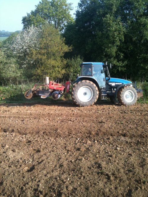 preparation des terre a mais