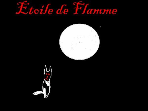 Dessin Etoile de Flamme