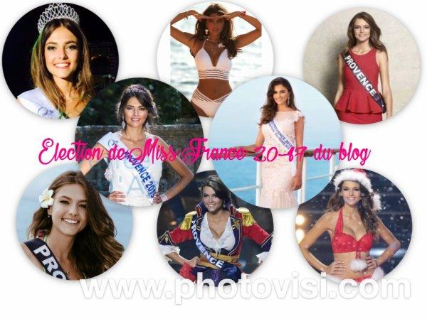 Élection Miss France 2017 du blog