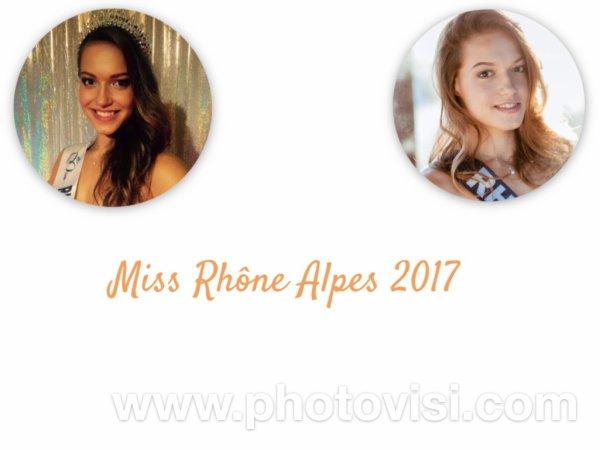 Miss Rhône Alpes 2017