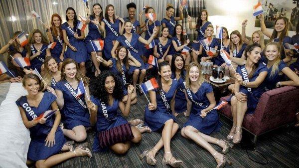 Photo de Groupe - Aventure Miss France 2018