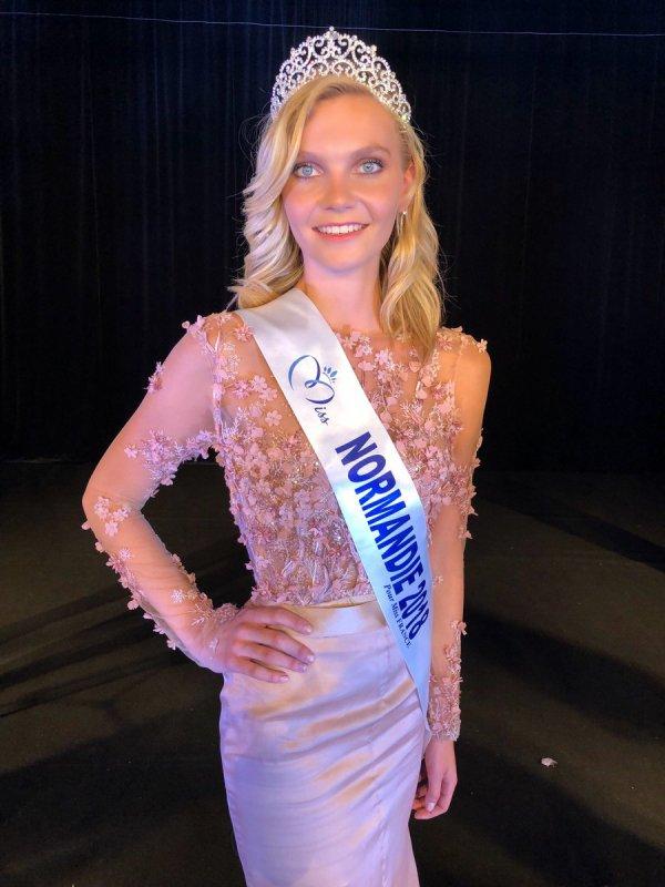 Miss Normandie 2018 - Anaëlle Chrétien