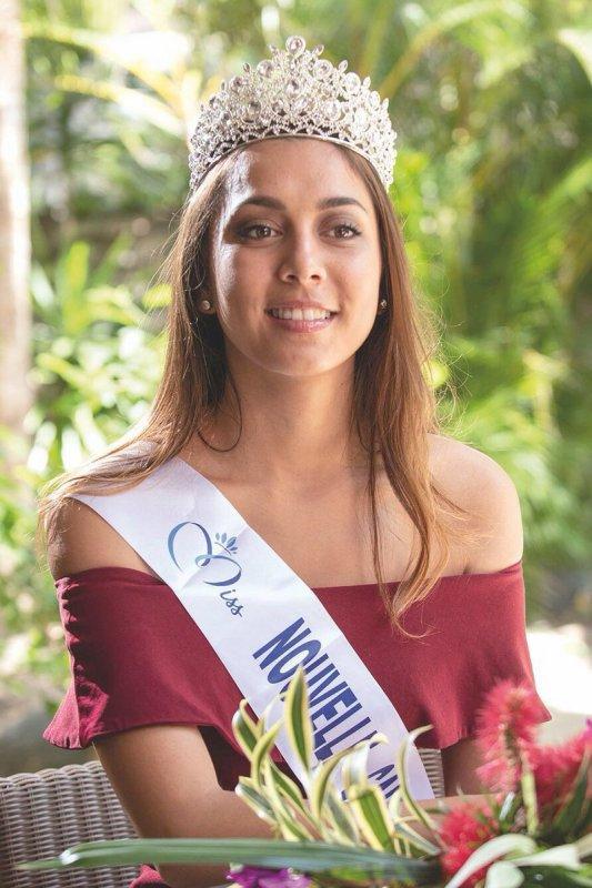 Miss Nouvelle Calédonie 2018 - Amandine Chabrier